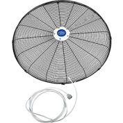 "Global Industrial™ Front Fan Grille With Misting Feature For 30"" Pedestal and Wall Mounted Fan"