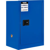 "Global™ Acid Corrosive Cabinet - 12 Gallon - Manual Close 23""W x 18""D x 35""H"