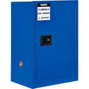 "Global Industrial™ Acid Corrosive Cabinet - 12 Gallon - Manual Close 23""W x 18""D x 35""H"