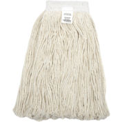 Global Industrial™ 16 oz. Cotton Cut-End Mop Head, 4Ply, Wide Band