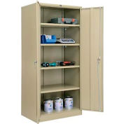 Global™ Storage Cabinet Easy Assembly 36x24x78 Tan