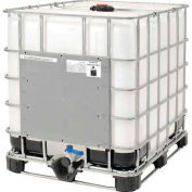 Mauser IBC Container 330 Gallon UN Approved with Plastic Pallet Base
