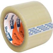 Ruban d'emballage thermofusibleShurtape® HP100EZ, usage général,3 po x110 verges,1,6 mil, transparent, qté par paquet : 24