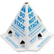 """Global Industrial™ """"Do Not Stack"""" Pallet Cones, 50 Pack"""