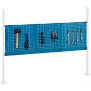 "Global Industrial™ 18"" & 36"" Pegboard Panel Kit, 60""W, Blue"