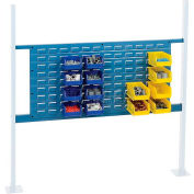 """Global Industrial™ 36"""" Louver Panel Kit, 48""""W, Blue"""