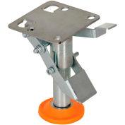 "Vestil Floor Lock with Polyurethane Foot Pad FL-LKL-4 for 4"" Casters"