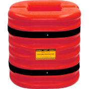 Protecteur de colonneEagle,ouverture de colonne de12 po,24 po H, rouge,1724-12-RED