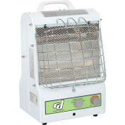 Continental Dynamics Portable Electric Heater Catchers Mask 1500W Dual Infrared & Convection Heat