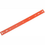 """Replacement Polyurethane Front Squeegee Blade for 17"""" Scrubber"""