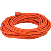 Global™ 100 Ft. Outdoor Extension Cord, 14/3 Ga, 13A, Orange
