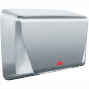 ASI® ADA SM haute vitesse à la main sèche, en acier inoxydable satiné 240V - 0199-2-93