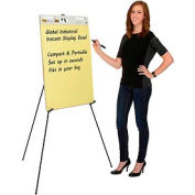 Portable Easel Stand – Instant Collapsible Tripod - Black - Aluminum
