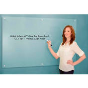 Global Industrial™ Frosted Glass Dry Erase Board - 72 x 48