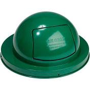 Global Industrial™ Steel Dome Top Lid - Green