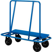 Chariot àcloison sèche de meilleure valeur, 8 po, roues increvables, capacité de2400 lb