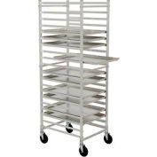 Nexel® PR2126 Pan Rack, Economy, Knock Down, End Loading, Aluminum