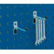 """Bott 14001102 Single Straight Hooks For Perfo Panels - Package of 5 - 1""""L"""