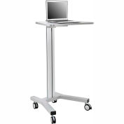 Mobile Height Adjustable Laptop Workstation