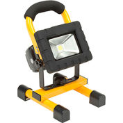 Global™ LED Rechargeable Work Light, 2 Batteries, Magnetic Feet, Car/AC Adapter, USB Port,Case