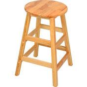 """24"""" Wood Stool"""