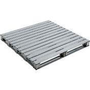 "Global Industrial™ Galvanized Steel Pallet - 48""L x 48""W x 4-3/4""H"