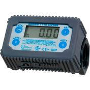 Fill-Rite TT10PN, Compteur électronique de turbine numérique en ligne, 35 GPM, Polymère ingénieur