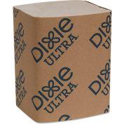 "Dixie Ultra® GPC32019, serviette Interfold recharges, 6-1/2"" Wx9-7/8"" D, 6000/Carton brun,"