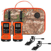 Motorola TalkAbout® T265 Sportsman Edition Radio bidirectionnelle, Pack 2, Orange