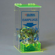 Global Acrylic Safety PPE Dispenser, Ear Plugs, Small, GLAEP-4