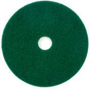 """18"""" Green Scrubbing Pad - 5 Per Case"""