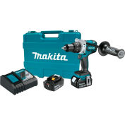 Ensemble de perceuse-visseuse Makita XFD07T 18V LXT, lithium-ion, sans contact, portative, 1/2 po, 5 Ah