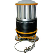 Lind Equipment LE360LEDC-MAG Battery Operated Beacon 360, 45W, 4500K, 6000L, w/Magnetic Mount