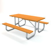 "72"" Recycled Plastic Picnic Table - Cedar"