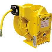 Reelcraft  L NM450 143 X NEMA 4 Heavy Duty Power Cord Reel, 14/3, 13 Amps, 50' Cord w/Flying Leads