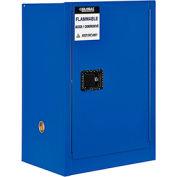 "Global™ Acid Corrosive Cabinet - 12 Gallon - Manual Close 23""W x 18""D x 35""H"