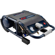 Campbell Hausfeld DC010500, 0.7 HP, Hand Carry, 1.3 Gallon, Suitcase, 125 PSI, 1.2 CFM, 1-Phase 120V