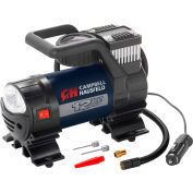 "Campbell Hausfeld AF010400, Inflator with Safety Light, 12VDC, 150 PSI, 31"" Hose"