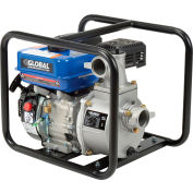 "Global Industrial® Portable Gasoline Water Pump, 2"" Intake/Outlet, 7HP"