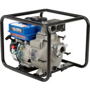 "Global Industrial® GTP50A Portable Gasoline Trash Pump 2"" Intake/Outlet 7HP"