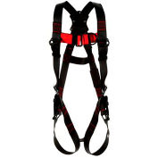 3M™ Protecta®1161521 Vest-Style Climbing Harness, Back & Front D-Rings, M/L
