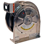 Reelcraft LS 5400 Stainless Steel Power Cord Reel, Bare Reel, 12/3, 20 AMP, No Cord