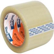 "Shurtape® HP 100 EZ General Purpose Grade Hot Melt Packaging Tape 3"" x 110 Yds. 1.6 Mil Clear - Pkg Qty 24"