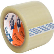 "Shurtape® HP 200 EZ Production Grade Hot Melt Packaging Tape 3"" x 110 Yds. 1.8 Mil Clear - Pkg Qty 24"