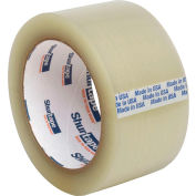 "Shurtape® HP 100 EZ General Purpose Grade Hot Melt Packaging Tape 2"" x 110 Yds. 1.6 Mil Clear - Pkg Qty 36"