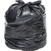 Global Industrial™ Light Duty Black Trash Bags - 20-30 Gal, 0,39 Mil, 500 Sacs/Case