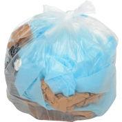 Global Industrial™ Medium Duty Clear Trash Bags - 45-55 Gal, 0,8 Mil, 200 Sacs/Case