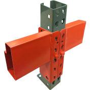 Global Industrial™ 144 Inch Pallet Rack Beam - Slotted 6250 lbs cap (2Pcs)