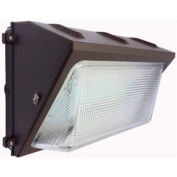 Commercial LED CLW4-805WMBR LED Wall Pack, 80W, 9800 Lumens, 5000K, IP65, DLC 4,4