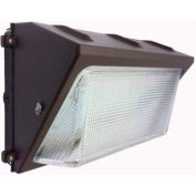 Commercial LED CLW4-1205WMBR LED Wall Pack, 120W, 13520 Lumens, 5000K, IP65, DLC 4,4